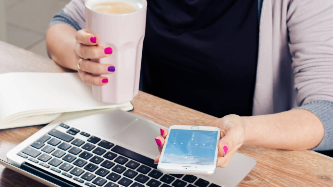 Is it safe to use mobile devices outside of the office?